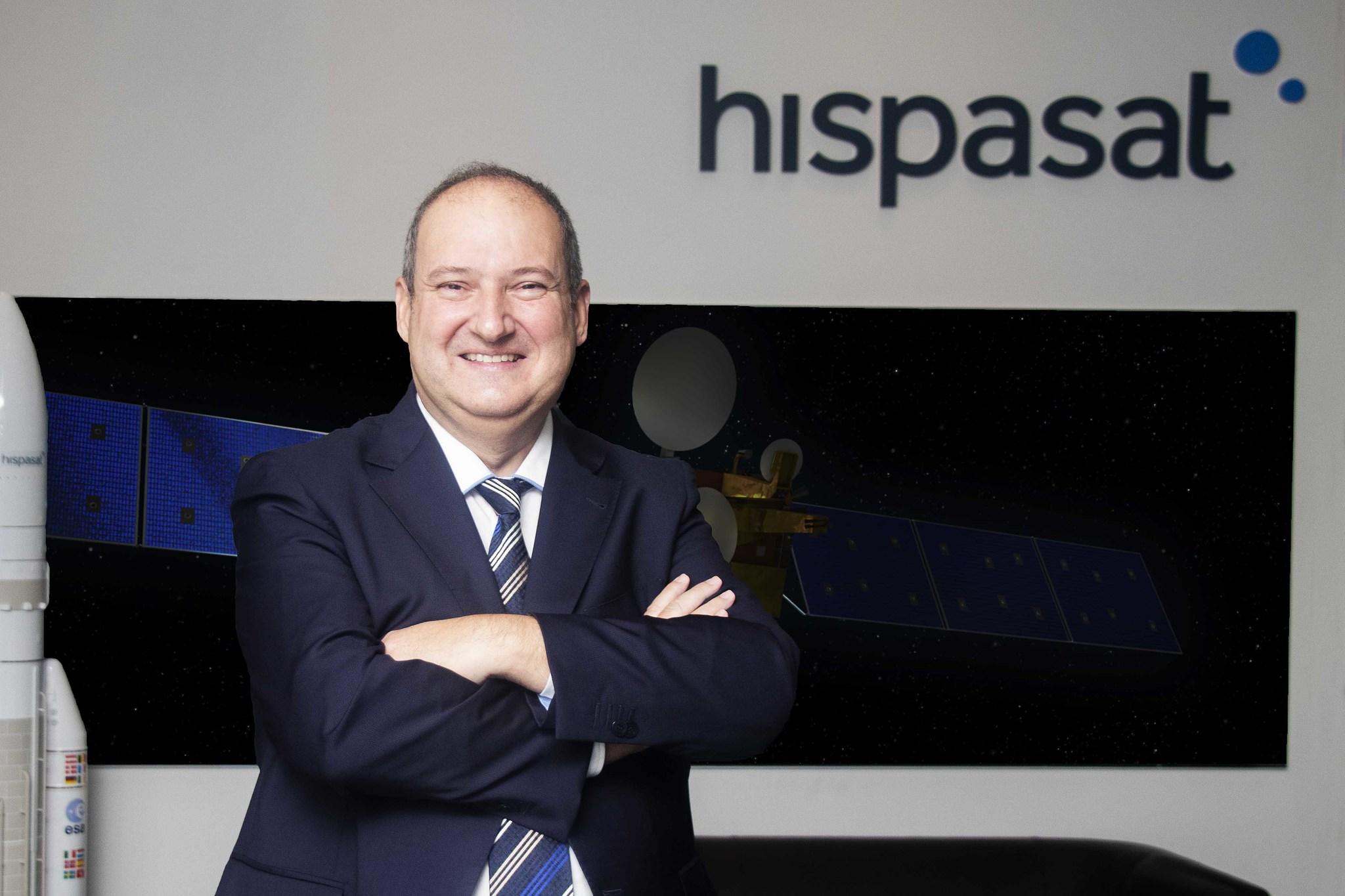Jordi Hereu, presidente de Hispasat.