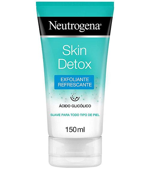 Skin Detox gel exfoliante, de Neutrogena.