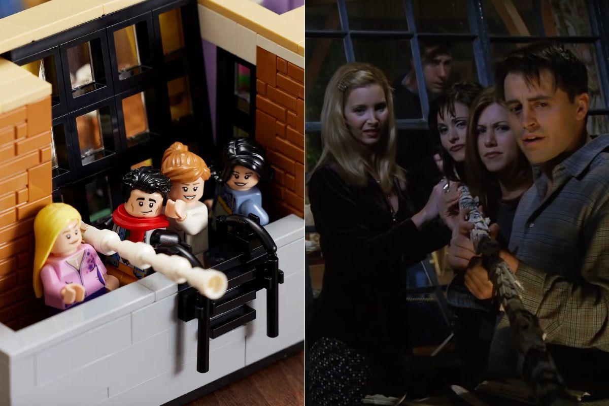 Los apartamentos de los protagonistas de Friends llegan a LEGO: así son por dentro