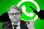 """El hombre que ha prohibido las nuevas y """"engañosas"""" políticas de privacidad de WhatsApp: así te afecta"""