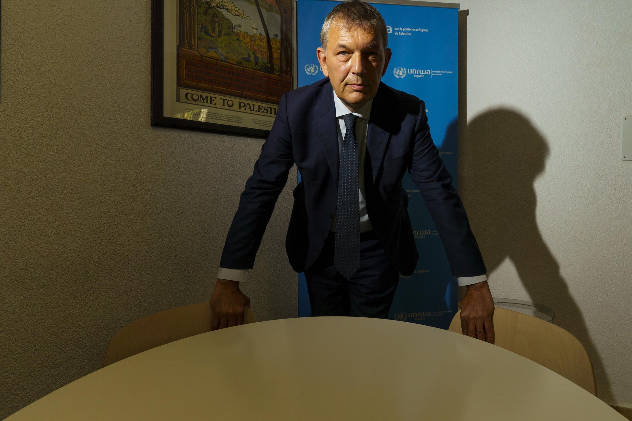 Philippe Lazzarini, en Madrid.