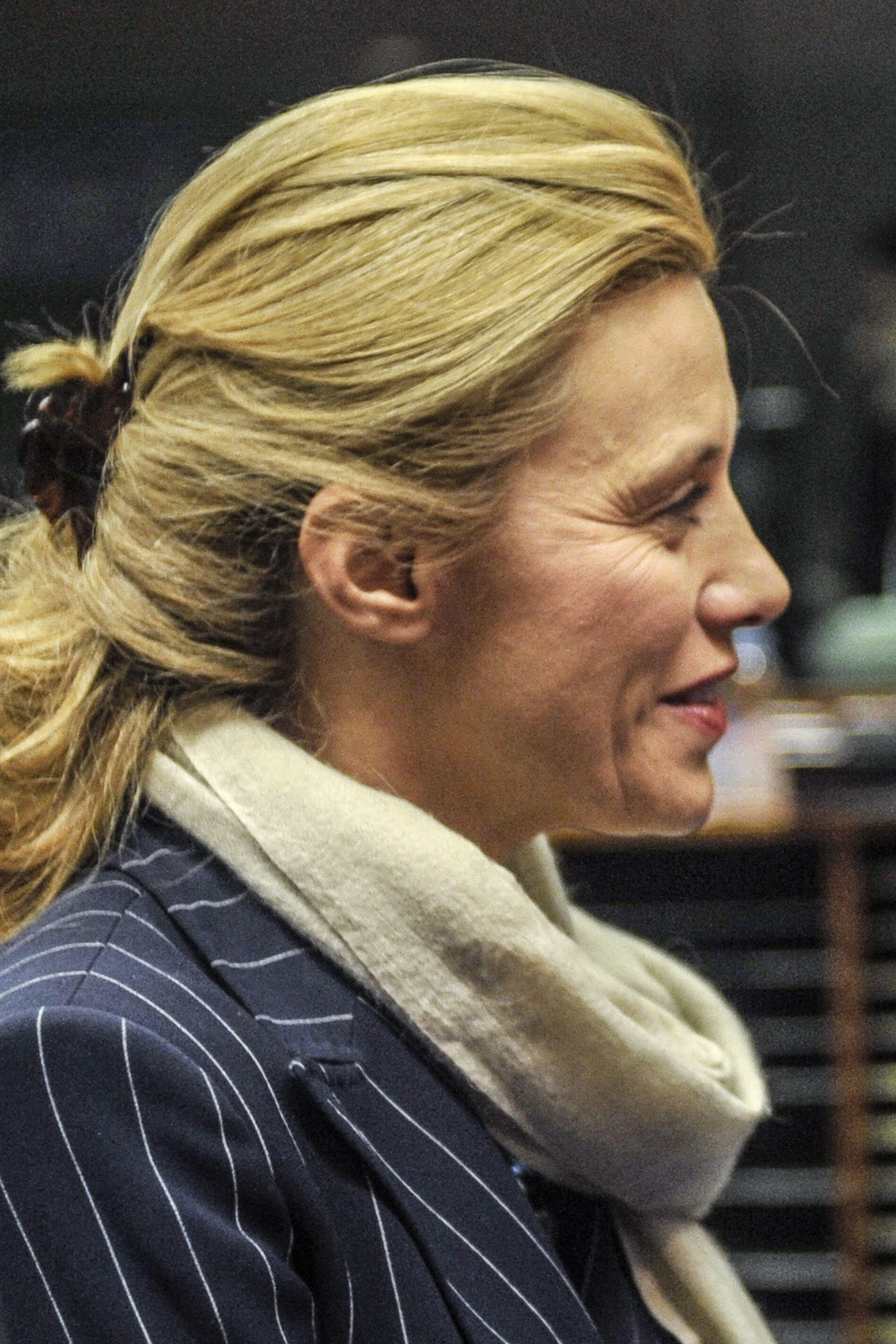 الیزابت بلونی ، در تصویری از سال 2008