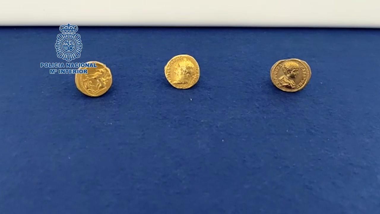Monedas robadas