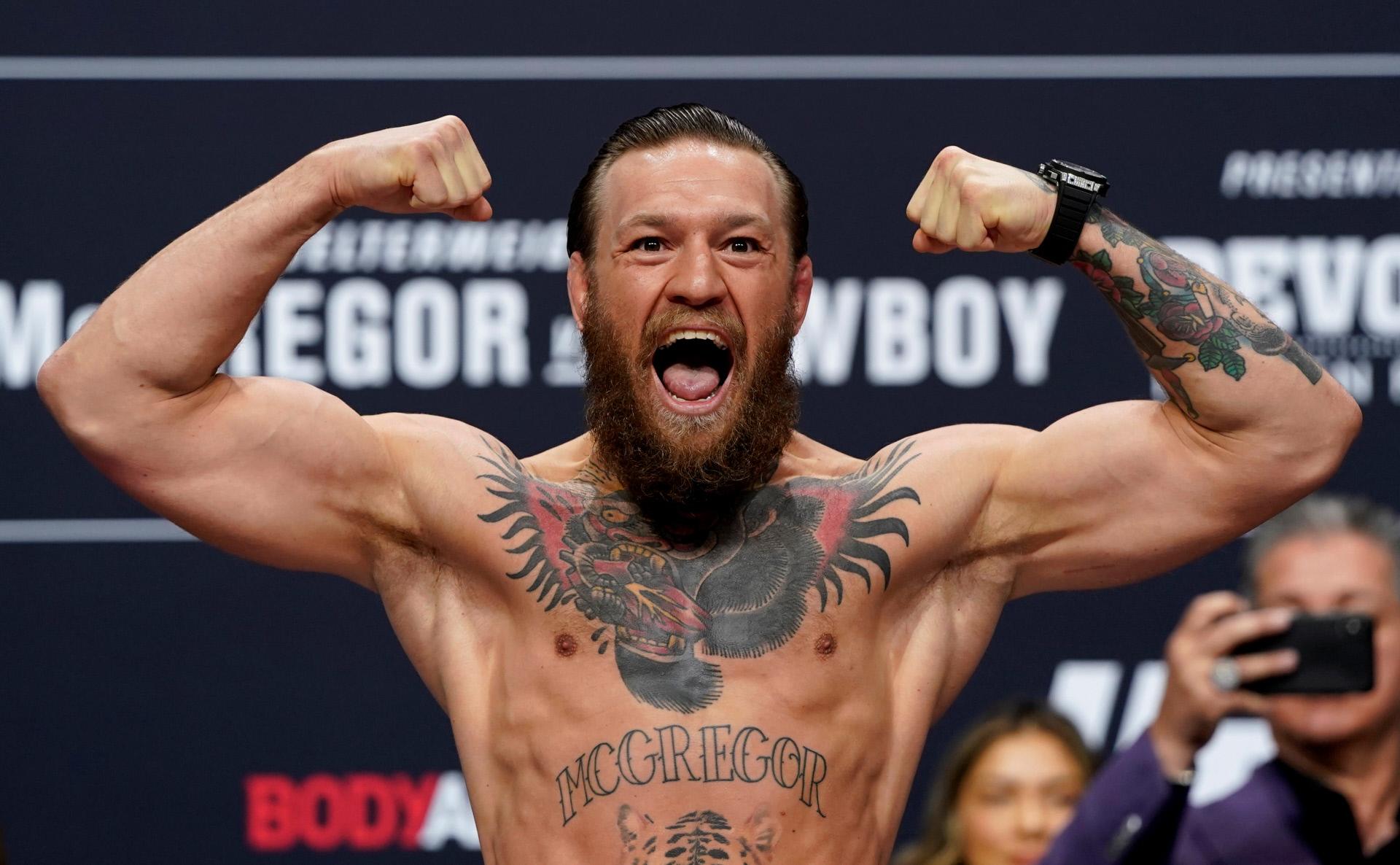 Conor McGregor, en Las Vegas, el pasado año.