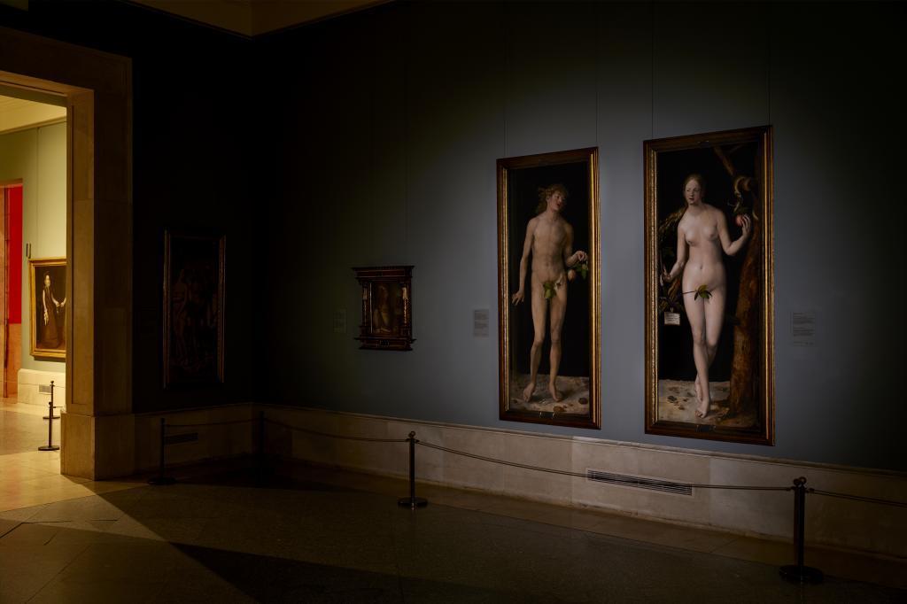 'Adán y Eva', de Durero, en el Museo del Prado.