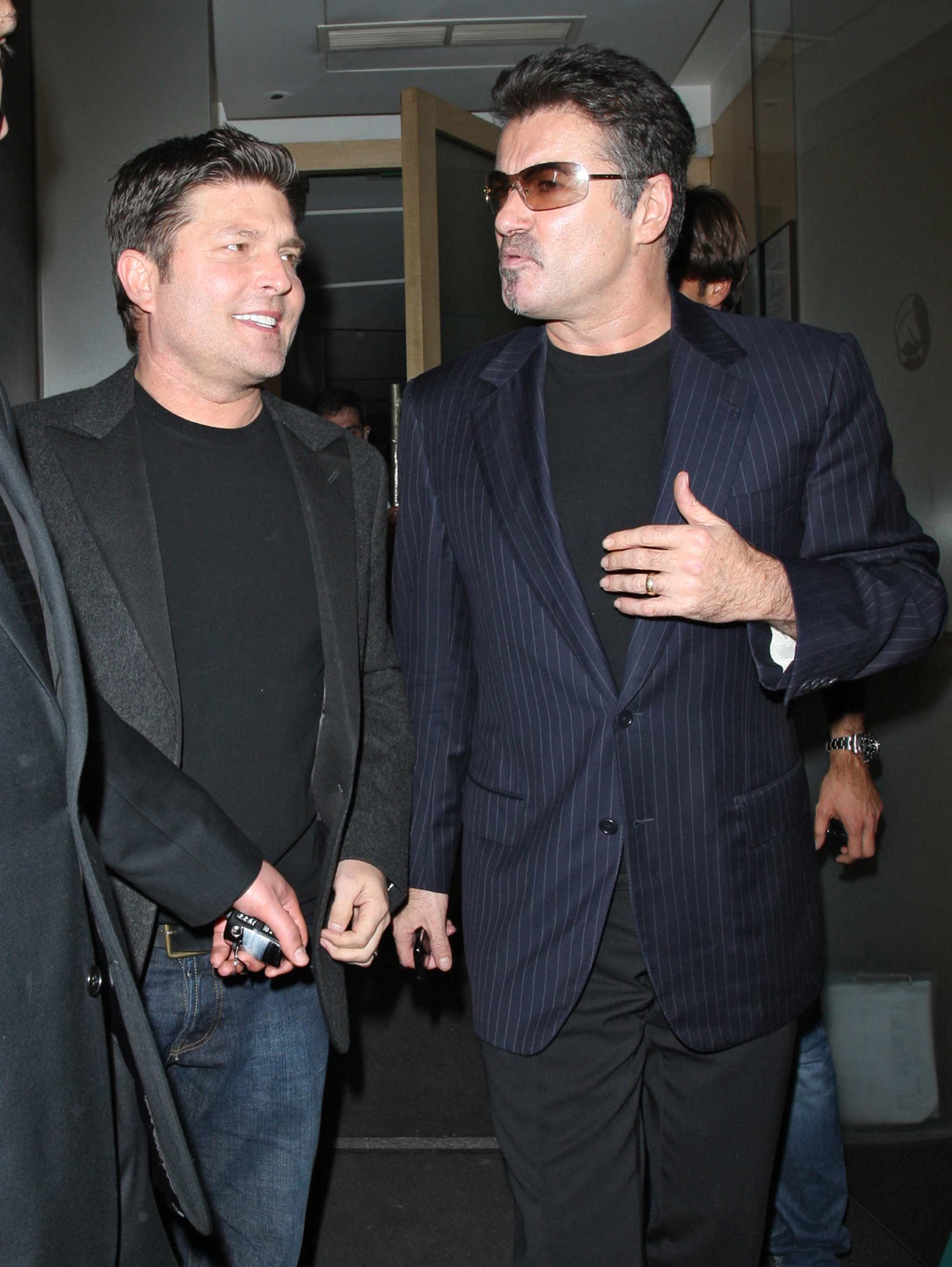 Kenny Goss y George Michael, en una imagen de 2009, cuando aún eran pareja.