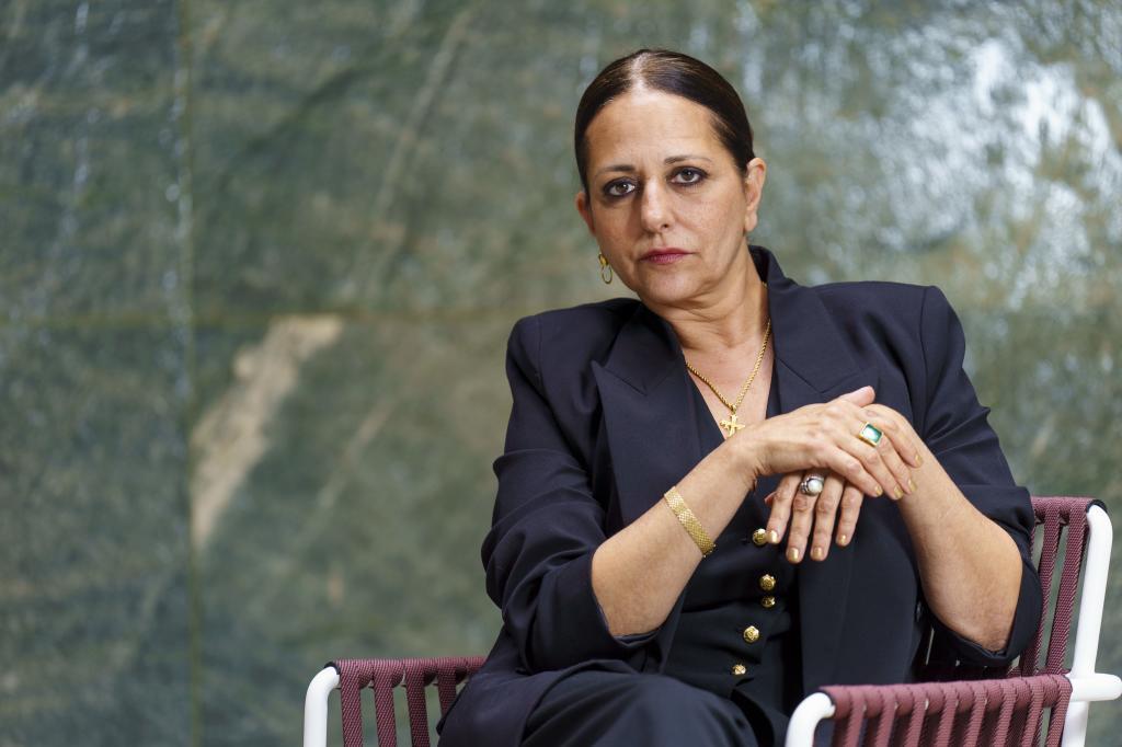 Yolanda Ramos, en el hotel Four Seasons de Madrid