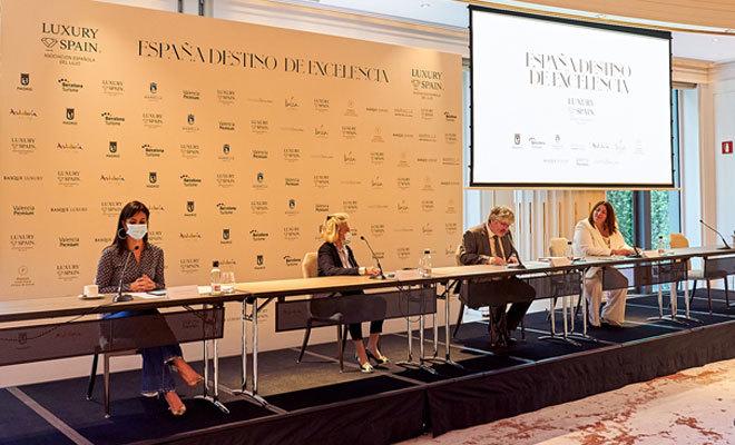 Acto de presentación de la plataforma en el hotel Four Seasons madrileño.