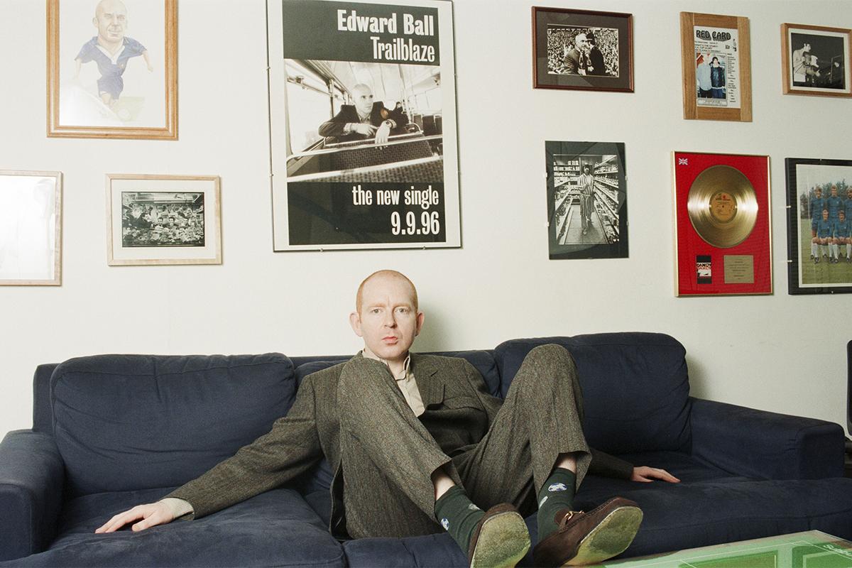 Alan McGee, en la época en la que revoluciónó la música británica.