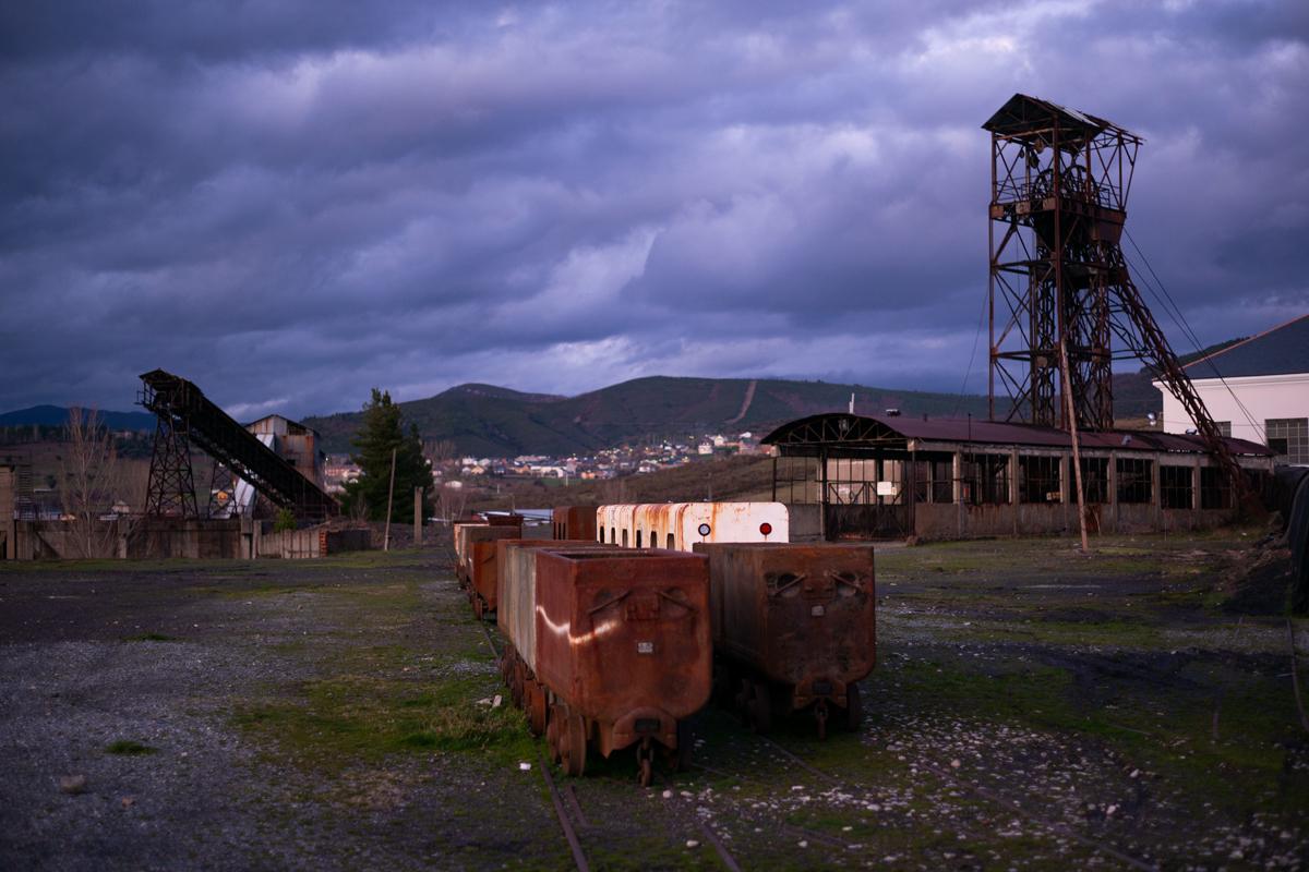 Área despoblada del pueblo de Barjas, provincia de León.