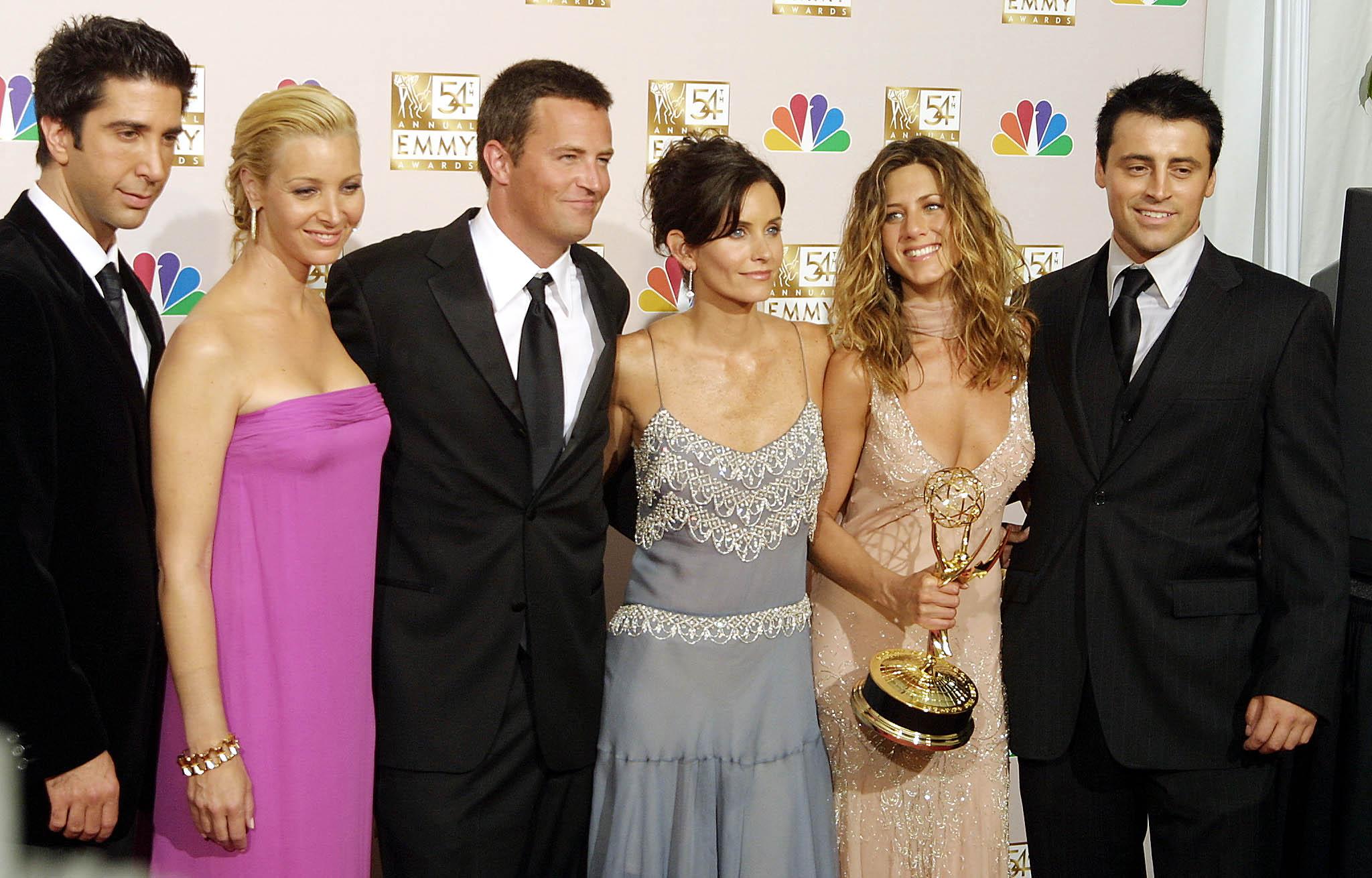 El casting de Friends en una imagen de archivo.
