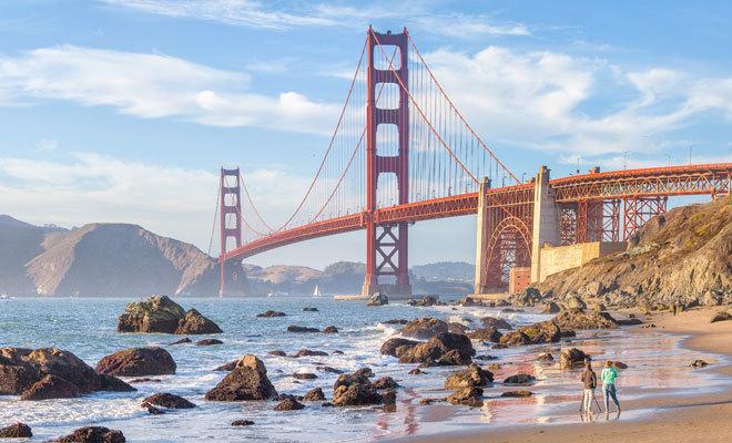 El Golden Gate de San Francisco.