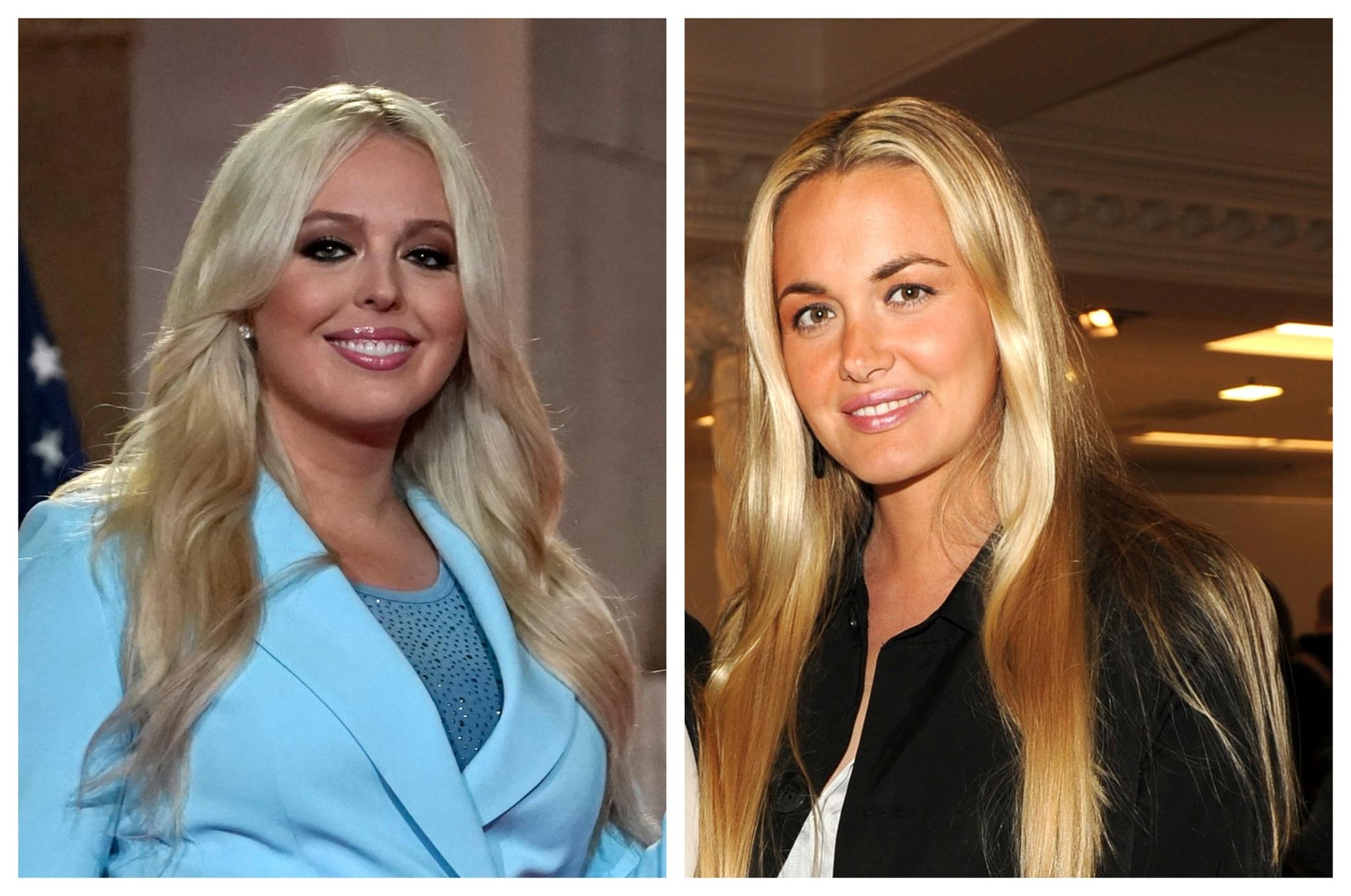 Tiffany Trump (izqda.) y Vanessa (dcha), ex nuera ésta del penúltimo presidente de EEUU.