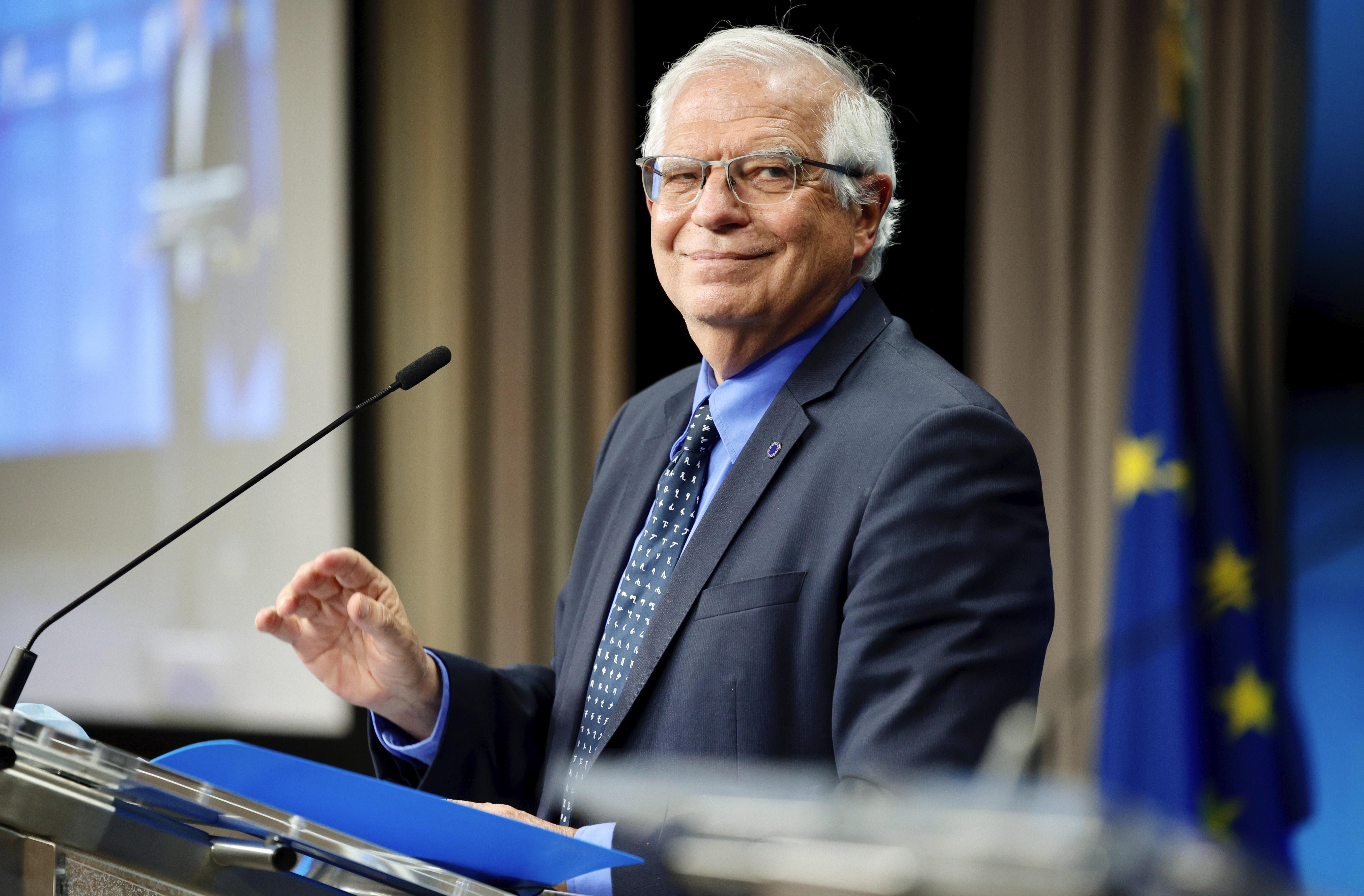 El alto representante para la Política Exterior de la UE, Josep Borrell.