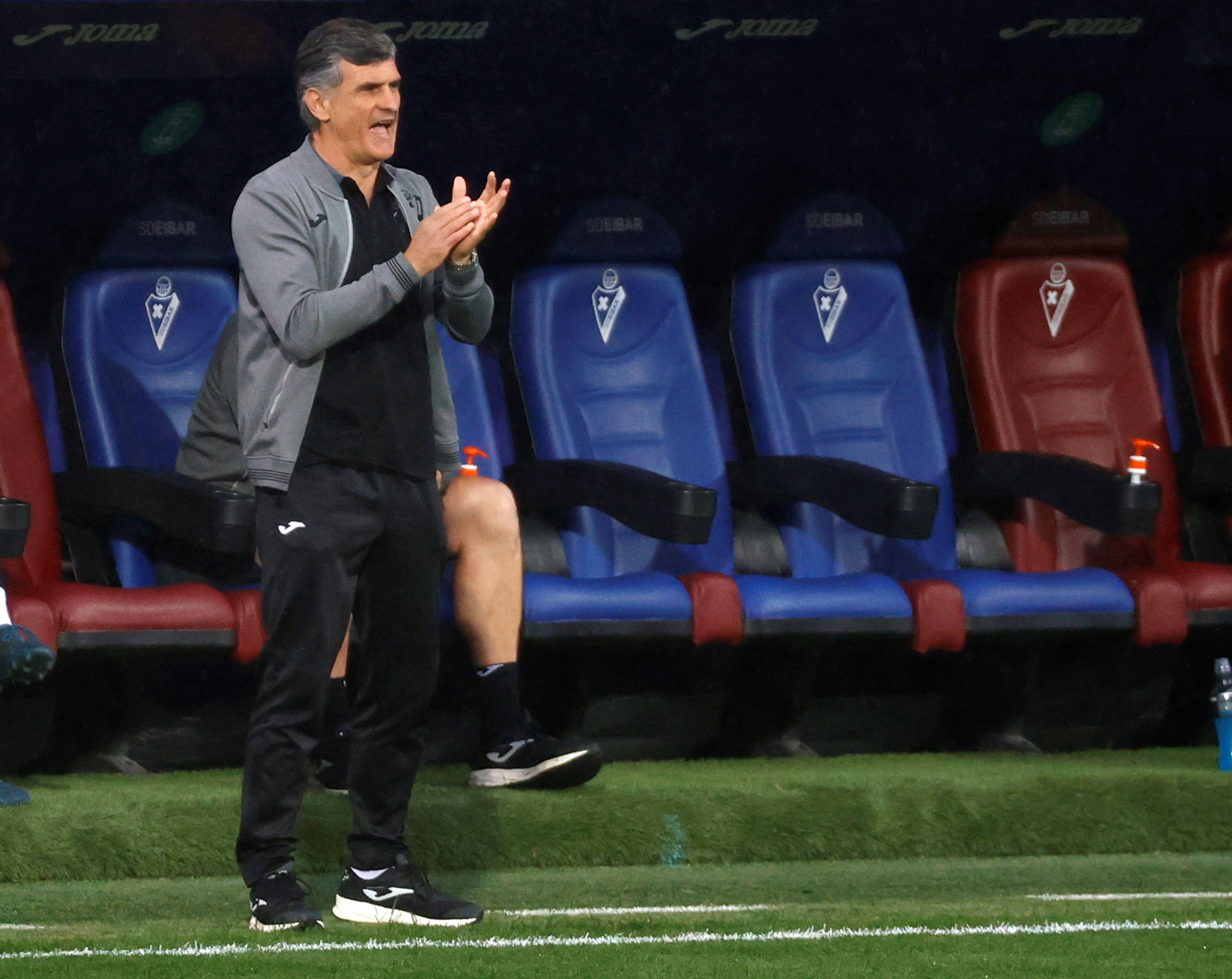 Mendilibar, técnico del Eibar.