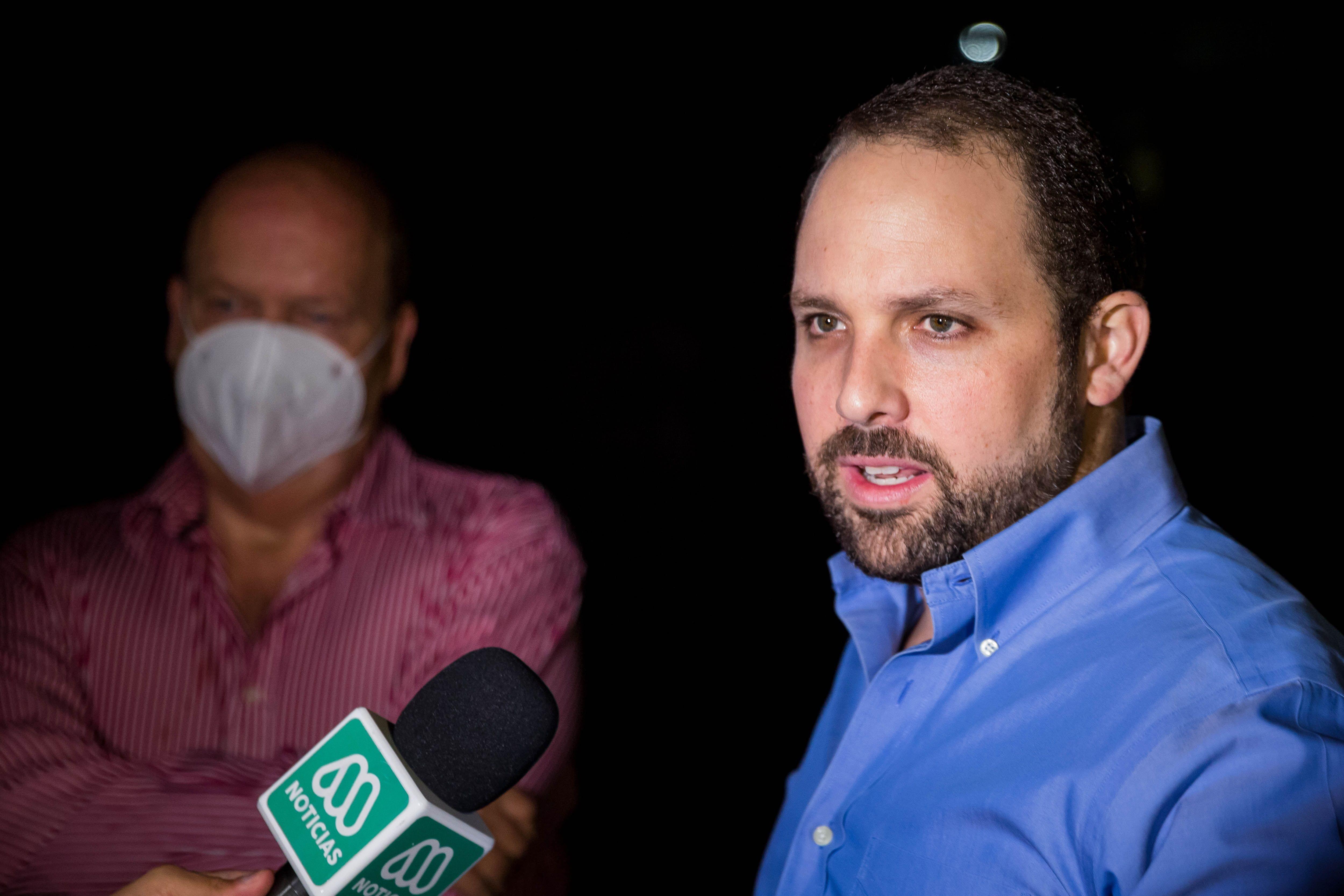 El gerente general de 'El Nacional', Jorge Makriniotis.