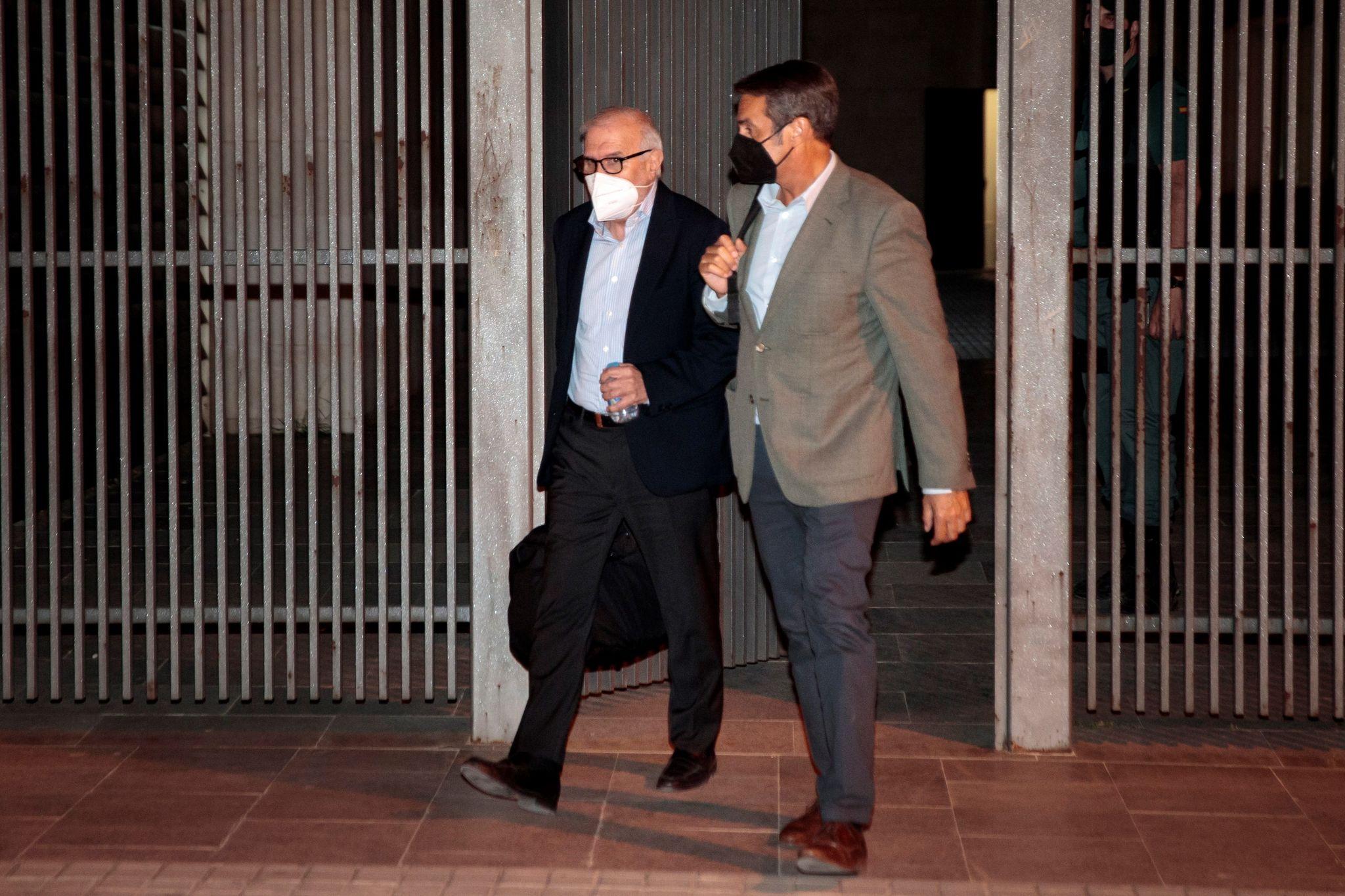El empresario Federico Ferrando, en libertad con cargos.