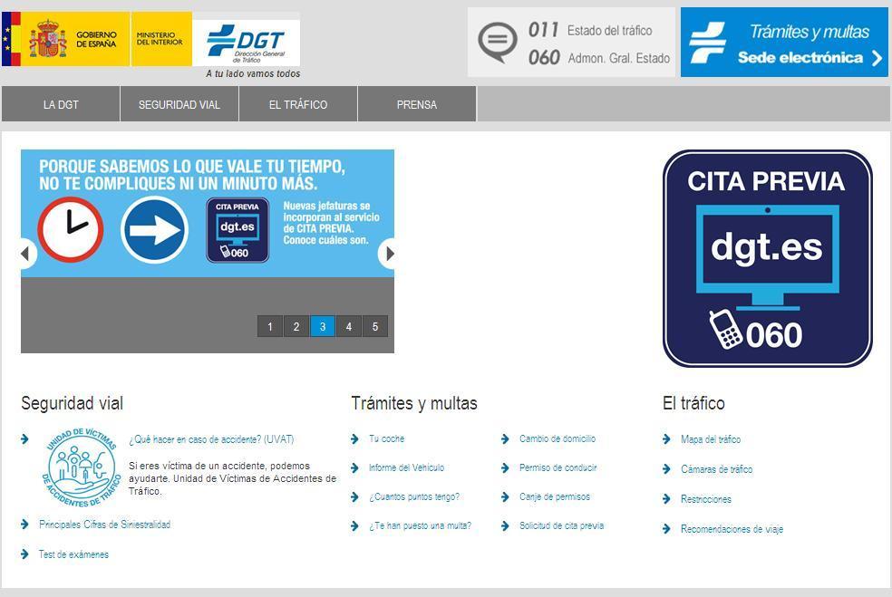 La web de la DGT, un 'infierno' para hacer trámites, incluso pagar