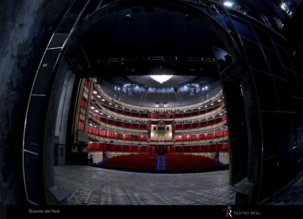 El Teatro Real, escenario del estreno de 'Don Fernando, el emplazado'.