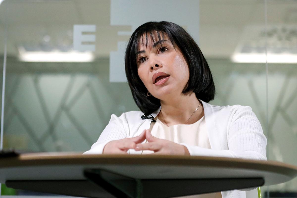 Claudia Patricia Díaz Guillén, enfermera y tesorera de Hugo Chávez.