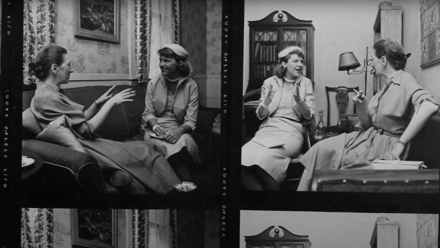 Imágenes incluidas en 'Dentro de la campana de cristal'.