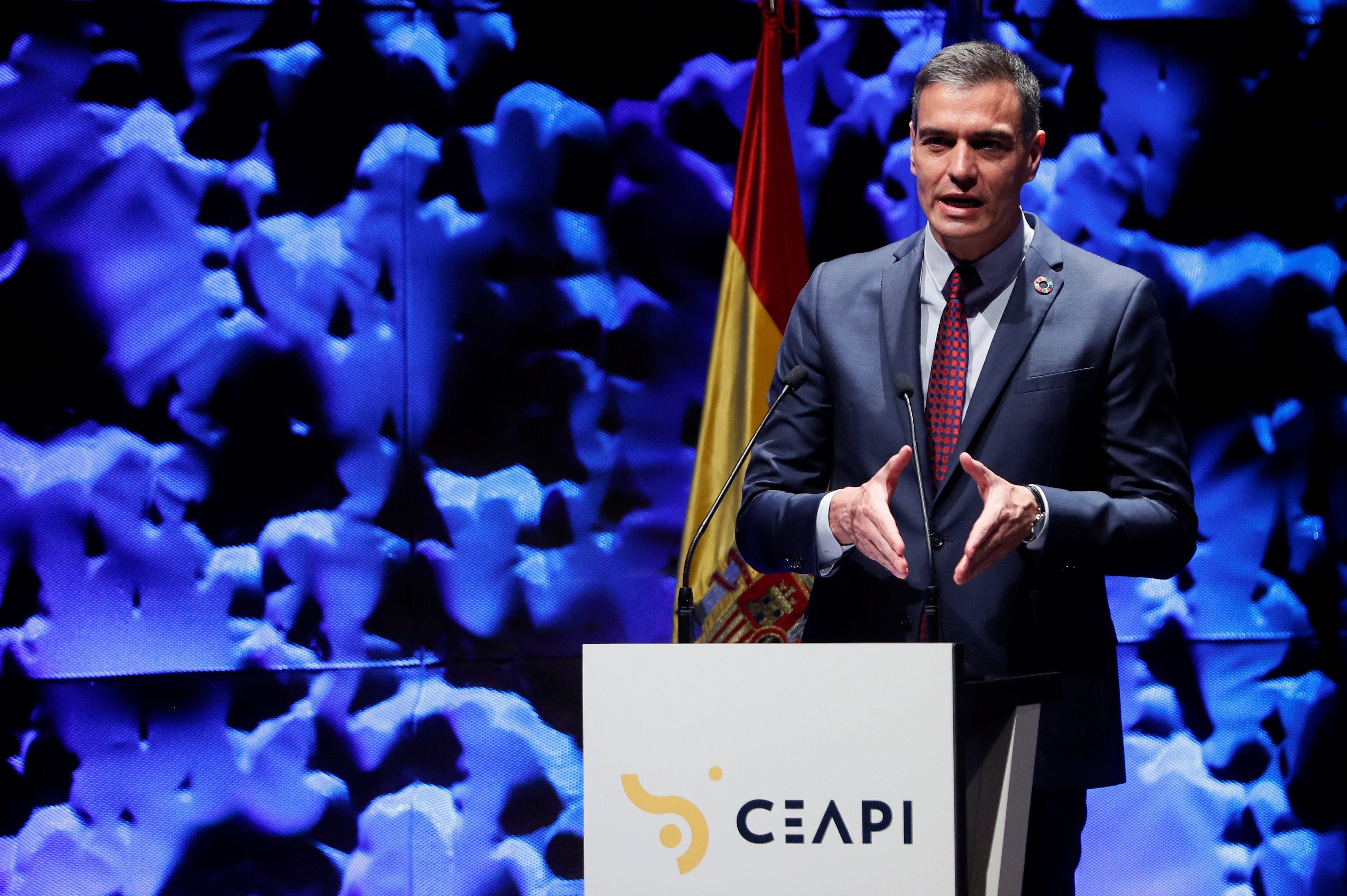 Pedro Sánchez interviene en el IV Congreso Iberoamericano CEAPI.