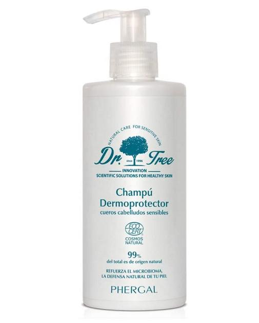 Lavarse el pelo a diario, ¿sí o no?: Champú Dermoprotector de Dr. Tree