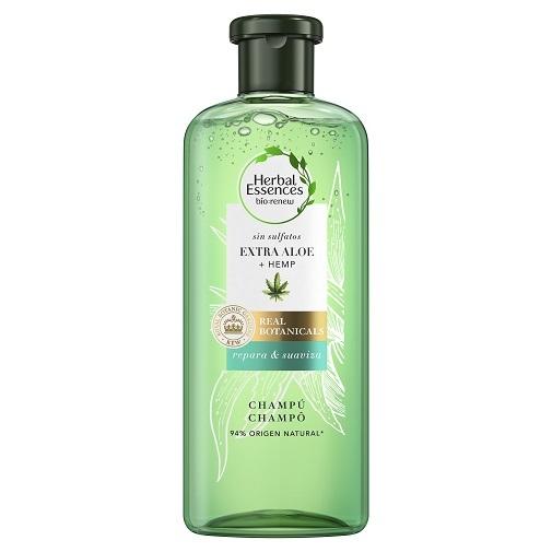 Lavarse el pelo a diario, ¿sí o no?: Champú Extra Aloe + Hemp de Herbal Essences