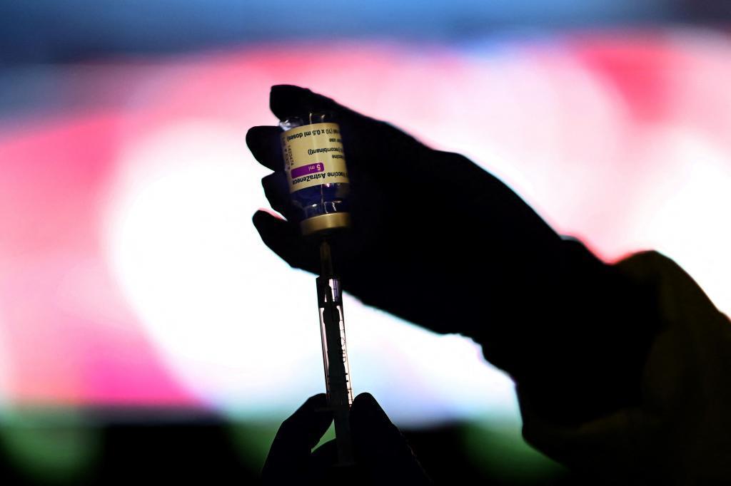 Vacunación con AstraZeneca en Madrid