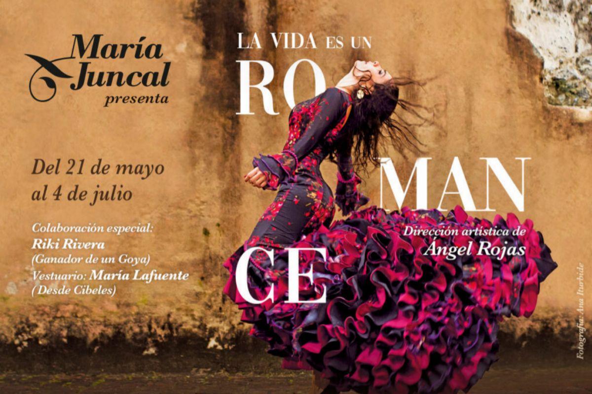 Imagen del cartel de 'La vida es romance'.