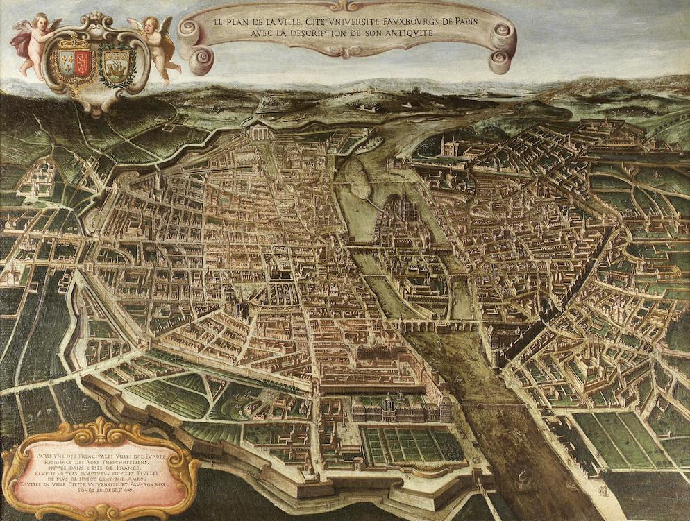 Plan de París, de Gianni-Maria Tamburini.