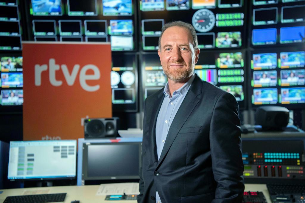 Enric Hernández, actual director de Información de RTVE