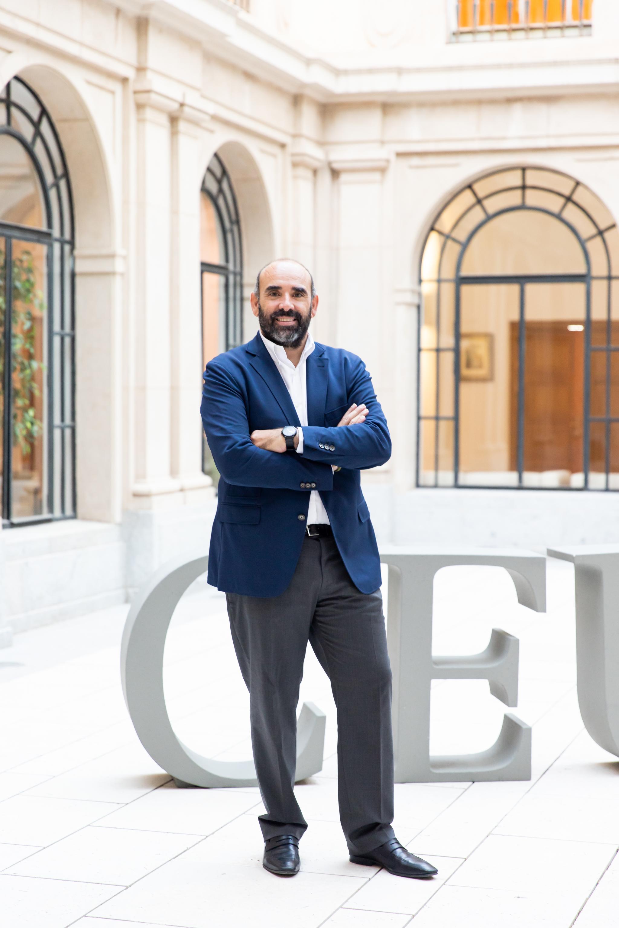 Iñaki Bilbao, vicerrector de Internacionalización y Transformación Digital de la Universidad San Pablo CEU