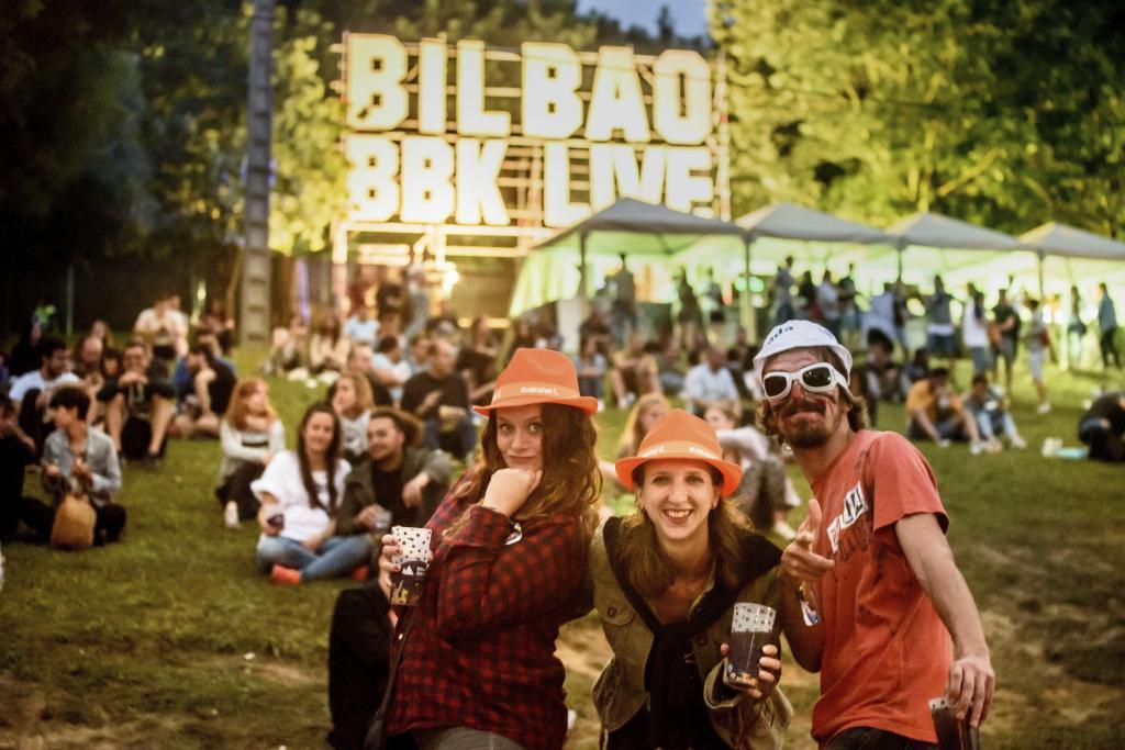 Ambiente en el Festival BBK Live en 2017