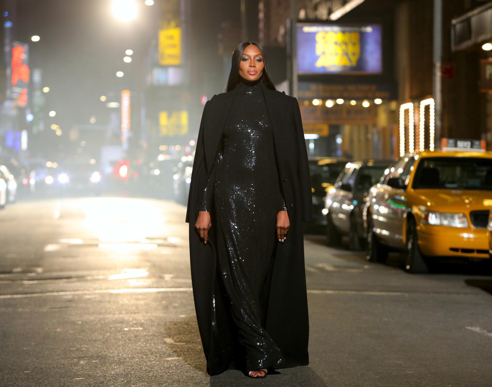 La modelo, en su último desfile, en Nueva York, en marzo.