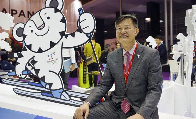 Un representante de Corea en años anteriores.