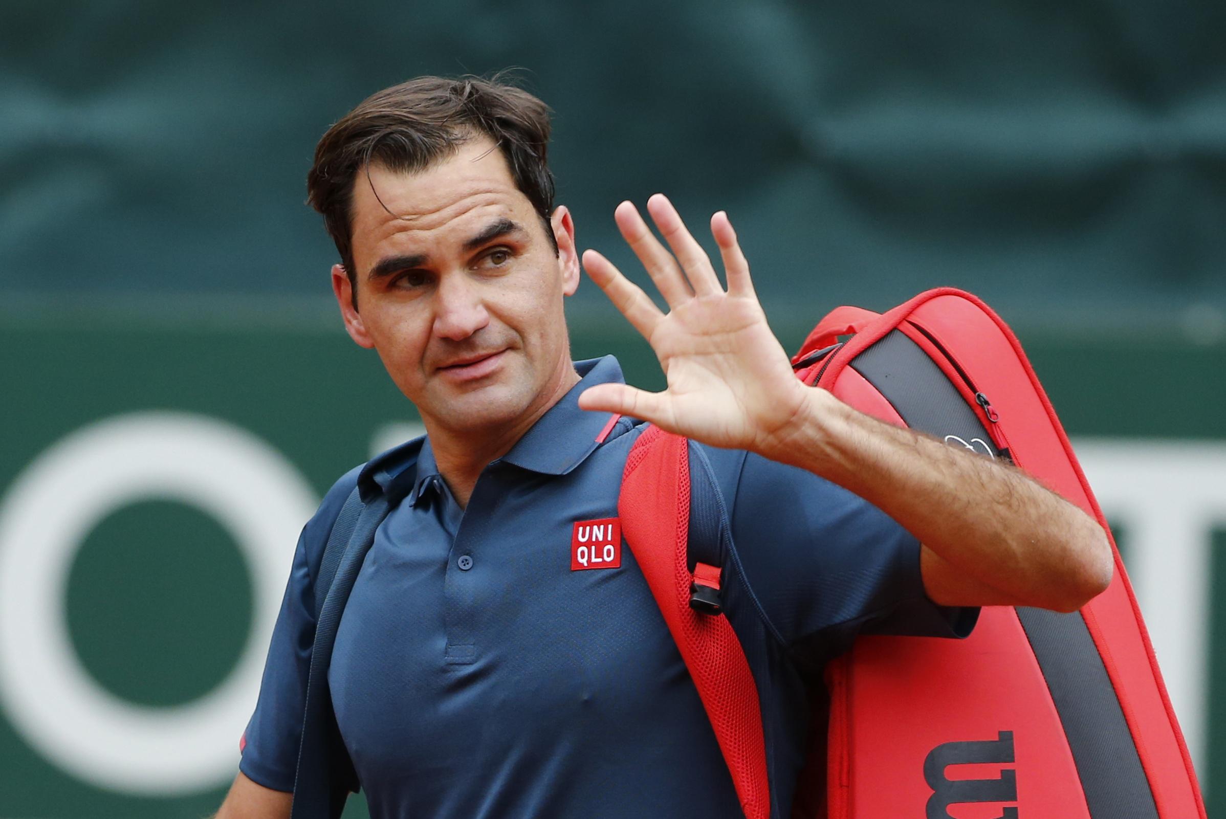 Federer, tras perder contra Andújar.