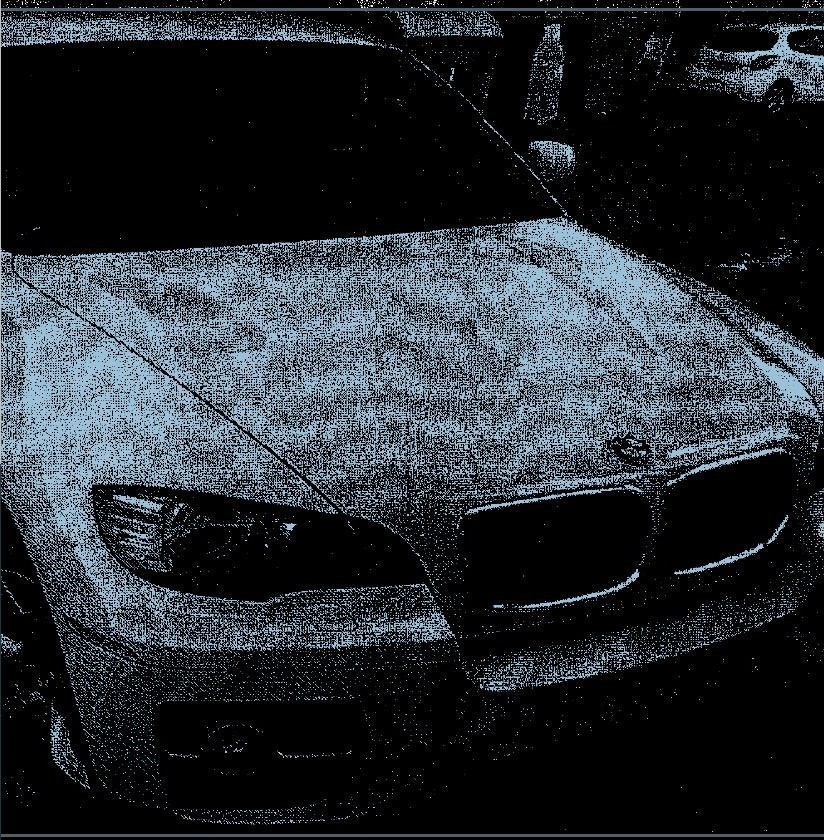El BMW X6 que compró el informático en Alemania y que de momento no ha recuperado.