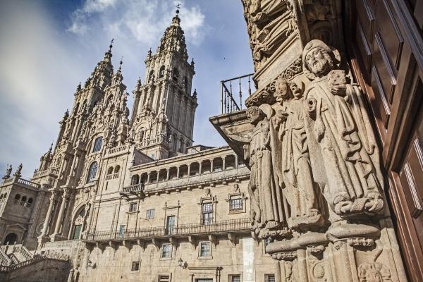 La Catedral de Santiago, final del Camino.