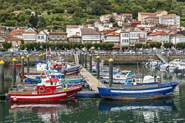 El puerto de Muros.
