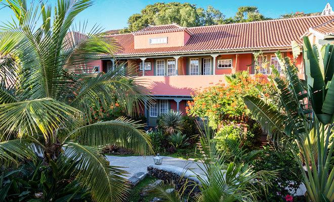 Hacienda de Abajo, en la isla de La Palma.
