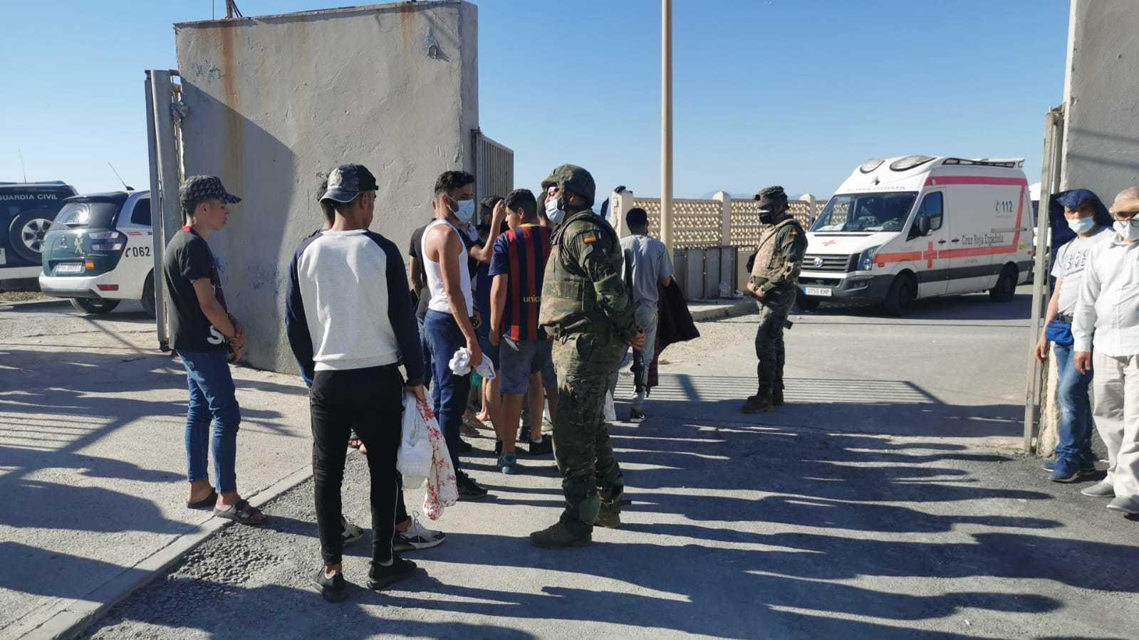 Devolución de inmigrantes a Marruecos