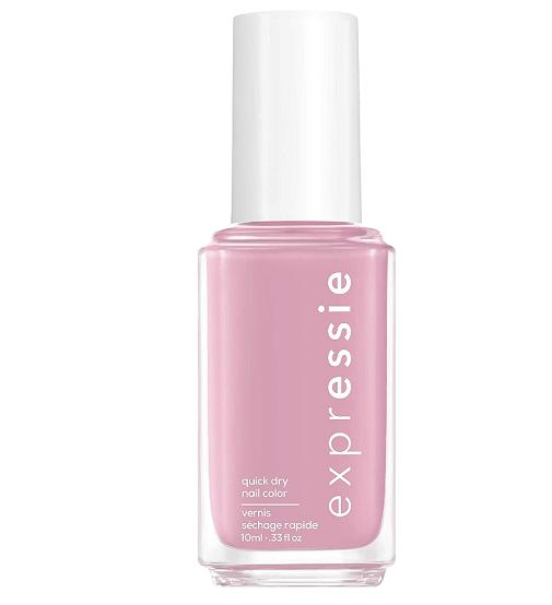 Manicura en rosa: Essie.