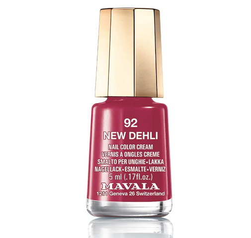 Manicura en rosa: Mavala.