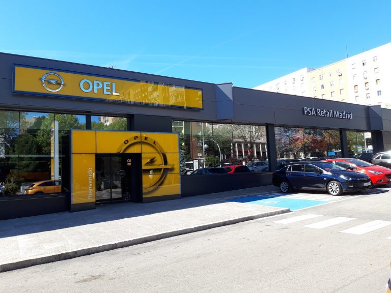 Concesionario Opel, Concesionario Peugeot, Concesionario DS, concesionario Citroën, PSA Retail, Stellantis