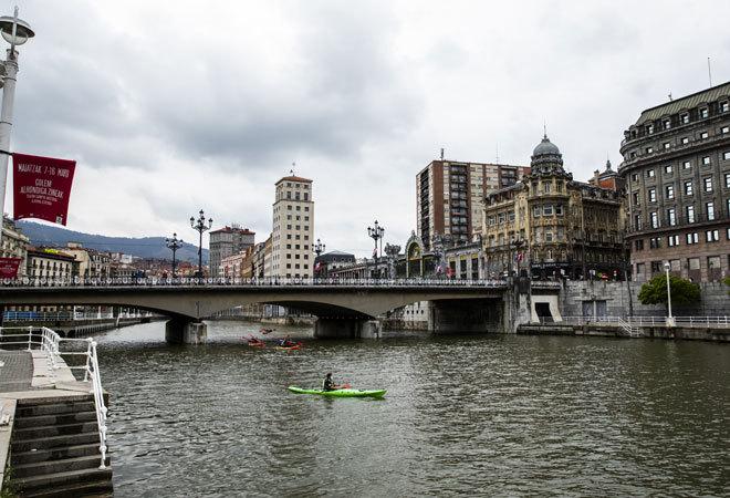 La remodelada imagen de la Ría de Bilbao.