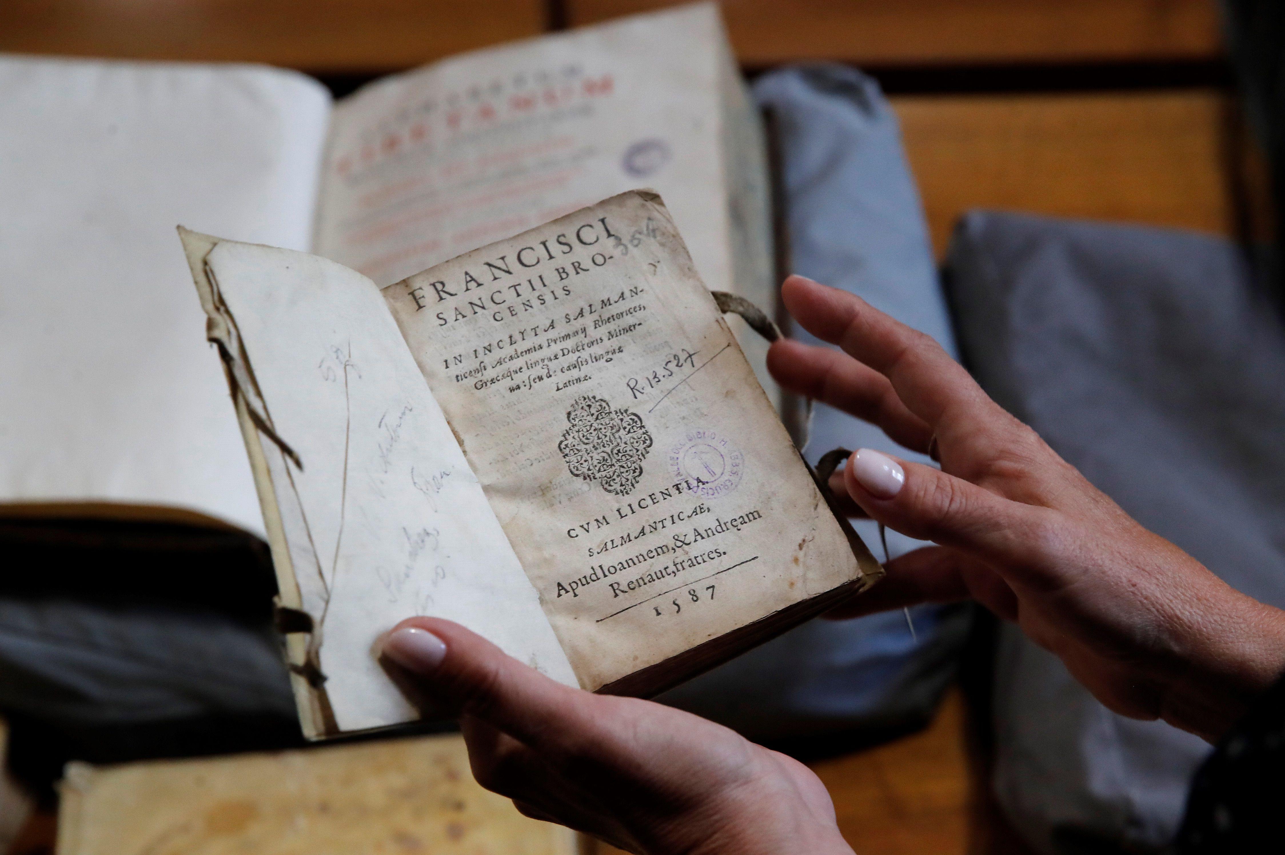 Uno de los 400 ejemplares devueltos por la Abadía del Valle de los Caídos