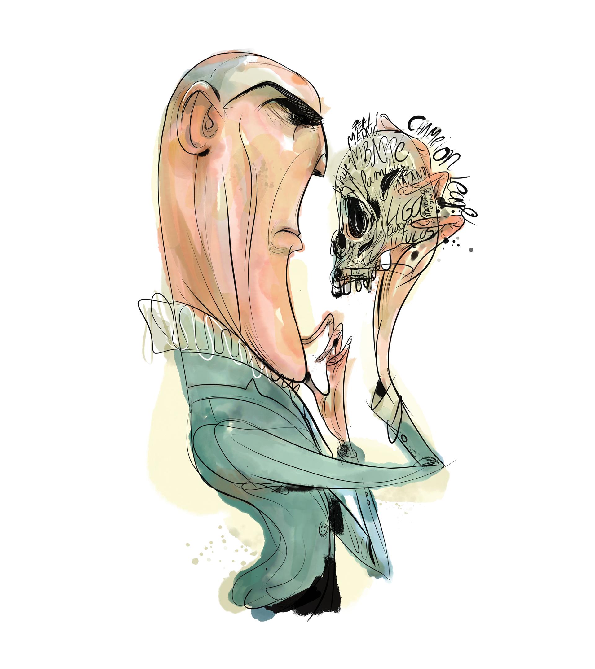 """La decisión de Zidane, el príncipe de los secretos: ocultarse bajo el apellido de su mujer, evitar las tarjetas y combatir su """"otro yo"""""""