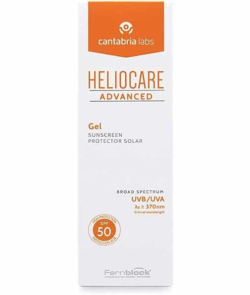 Gel Advanced Heliocare, de Cantabria Labs.