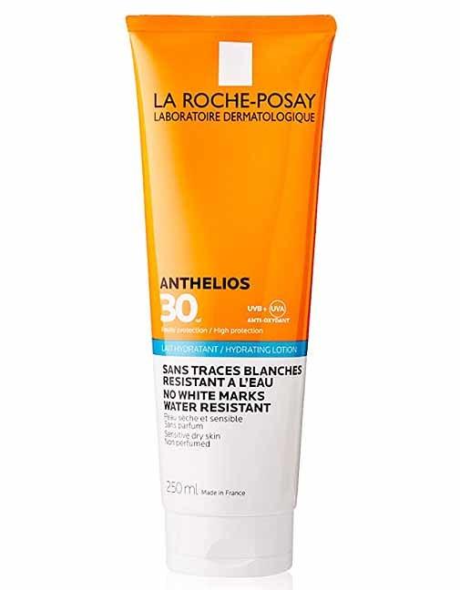 Leche Anthelios 30+, de La Roche-Posay .